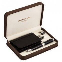 Boughton Cufflinks Executive Pen & Wallet Boxed Gift Set