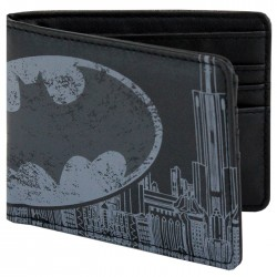 Batman City Print Wallet