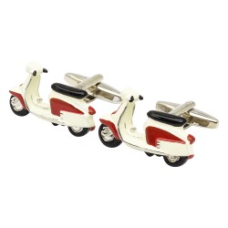 1967 Red Lambretta Cufflinks