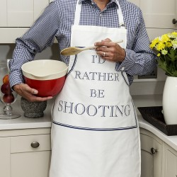 I'd Rather Be Shooting Apron