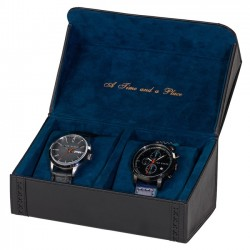 TED BAKER - Black Brogue Watch Case
