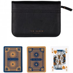 TED BAKER - Black Brogue Playing Cards Set