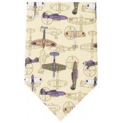 Military Aircraft Planes Silk Tie