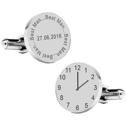 Personalised Best Man..Special Time Cufflinks
