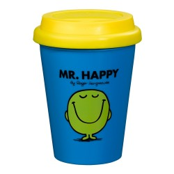 Mr Happy Travel Mug - Mr Men Travel Mug