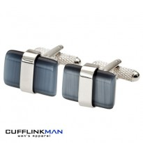 RAPTURE Grey Cufflinks