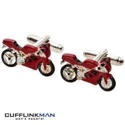 Need for Speed 'Red' Superbike Cufflinks