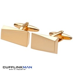 Mystic Edge Gold Cufflinks