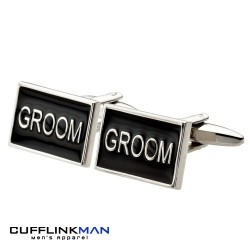Black Groom Cufflinks
