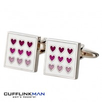 Purple Heart Cufflinks