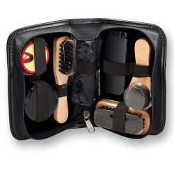 Shoe Care Travel Kit - 7 Piece Gift Set