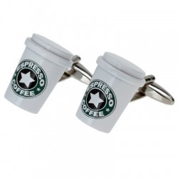 Coffee Cufflinks