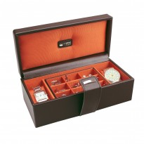 Park Lane Tangerine Accessories Case