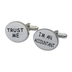 Trust me I'm An Accountant Cufflinks