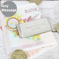 Classic Money Clip - Personalised Any Message