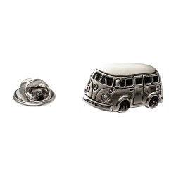 Campervan Lapel Pin - Campervan Lapel Badge By Onyx-Art London