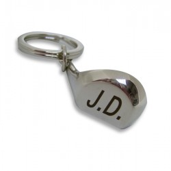 Golf Club Key Ring - Personalised with Initials