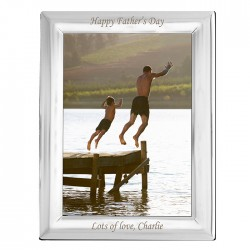 Any Message - Any Occasion Silver Plated Personalised Photo Frame